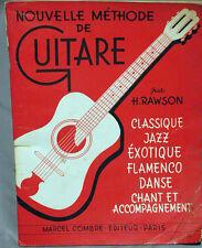 methode de guitare RAWSON EDITEUR : COMBRE
