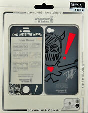 Whatever It Takes Dave Grohl - Foo Fighters Front / Back Skin for iPhone 4 / 4S