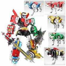 Complete set of 5 Voltron Legendary Series 16 inch Lions, NEW and MINT!