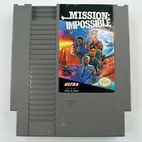 Mission: Impossible (Nintendo Entertainment System, 1990) Tested & Works 8C