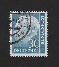 GERMANY 1957 Professor TH Heuss 30 pfg (Z2)