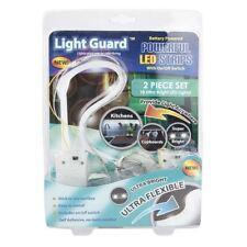 Flessibile 18 LED luce auto-Strisce di NASTRO ADESIVO Casa Cucina Armadio Credenza