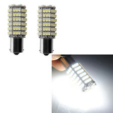 2x 1156 BA15S P21W 120 SMD 3528 White Car Tail Turn Reverse LED Bulb Lamp Lights