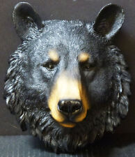 "BEAR TOTEM  Sm Bear Head  Statue Figurine  H8.5"""