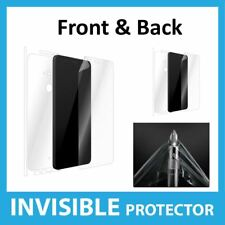 HTC U11 Plus Screen Protector Front and Back Coverage Invisible Skin Shield
