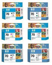 6 x Cabezal de impresión HP Designjet Z3100/Nr. 70 C9405A C9406A C9407A C9409A