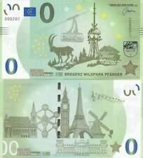 Biljet billet zero 0 Euro Memo - Bregenz Wildpark Pfander (002)