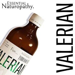 ORGANIC VALERIAN ROOT TINCTURE Liquid Extract (Valeriana officinalis) PREMIUM