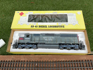 AristoCraft SD-45  Diesel Locomotive Southern Pacific G Scale Battery Only w/Box