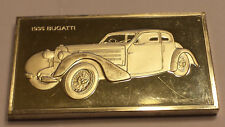 1935 Bugatti  Franklin Mint Cars 2 troy oz  Sterling .925 Silver Ingot