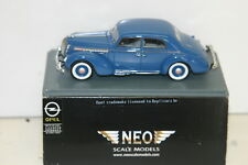 NEO 43201 OPEL ADMIRAL LIMOUSINE, BLUE
