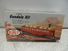 KUSAN/KMT VINTAGE O GAUGE GONDOLA KIT  N & W   IN ORIGINAL BOX