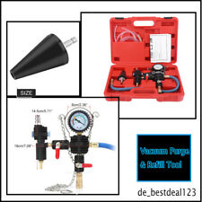6p Cooling System Vacuum Purge&Coolant Refill Kit Car SUV Van Cooler No Bleeding