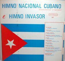 Himno Nacional Cubano (Instrumental y Cantado) e Himno Invasor     LP