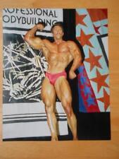 Bodybuilder STEVE MICHALIK muscle bicep contest photo