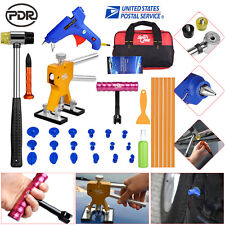 From US Paintless Hail Repair PDR Dent Lifter Puller Ding Removal Tools Bag Kits
