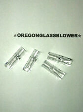 4x Glass Filter Tips 9mm Flat End