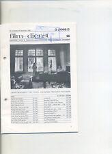 Film-Dienst (1980) Nr. 23 Berlin Chamissoplatz Bruce Lee Die Sexmaschine