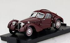 Bugatti 57SC Atlantic dunkelrot 1938 1:43 Brumm Modellauto R088-02