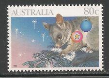 Australia #1196 (A424) Vf Mnh - 1990 80c Opossum / Christmas