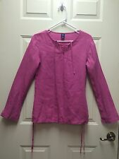 Gap Linen Blouse Size Small