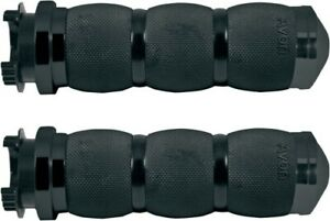 Avon Grips - MT-AIR-90-ANO - Air Cushioned Metric Grips, Black Black Anodized