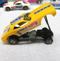 HOT WHEELS VINTAGE REDLINE 1970 SNAKE UNRESTORED ORIGINAL YELLOW ENAMEL