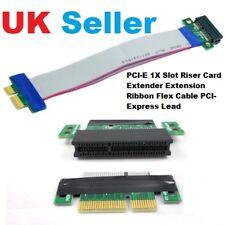 PCI-E 1X Slot Scheda riser estensione Extender Cavo A Nastro Flessibile PCI-Express di piombo