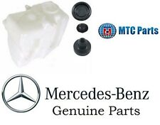 For Mercedes GENUINE+MTC Windshield Washer Fluid Reservoir KIT Plugs &Gromets