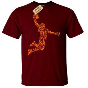 Basketball Player Mens T-Shirt gift fan present