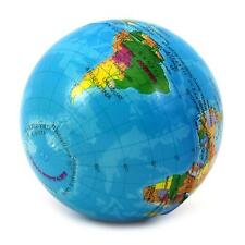 World Map Foam Earth Globe Stress Relief Bouncy Ball Toy Gift For Kids Children