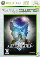 Used Xbox 360 Infinite Undiscovery  MICROSOFT JAPAN JP JAPANESE JAPONAIS IMPORT