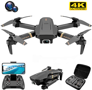 New V4 Rc Drone 4k HD Wide Angle Camera 1080P Wi-Fi FPV Dual Camera Quadcopter