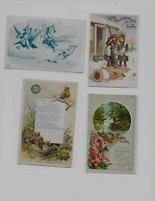 New ListingVictorian Trade Cards * Fairies * Household Sewing Machine * Thread * Robins