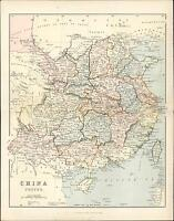 1866 Mackenzie Antique Map of China, Taiwan, Formosa