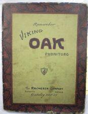 ROMWEBER Viking Oak Furniture Catalog 1938-39 Rare Depression Era!!