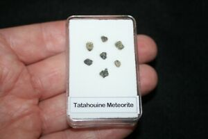 Tatahouine diogenite meteorite Found where Star Wars filmed in display case