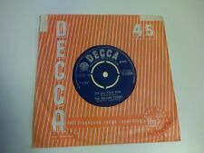 "THE ROLLING STONES It's All Over Now / Good Times, Bad Times 7"" UK Decca"