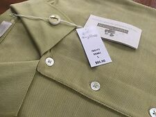 "Msrp$85 Harry Vardon Is0171 ""Khaki"" Green Polo Golf Shirt Large 100% Cotton Nwt!"