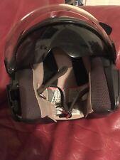 Snowmobile Dual Visor insulated Helmet BRP GIVI St-7 Hybrid nice condition