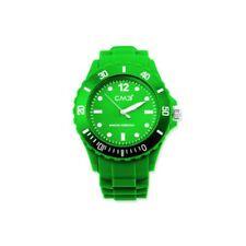 CM3 cm3-u-gn43 – Mens Wrist Watch, Bracelet Made of Silicone Color Green