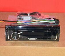 JVC KD-X255BT 1-Din In-Dash Digital Media Bluetooth Receiver 2 phone Control USB