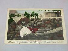 African Postcard: The Advance Of Civilisation - A Native Belle