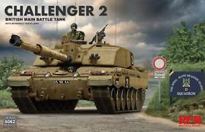 Ryefield 5062 Challenger 2 British Tank 1/35 Scale Model