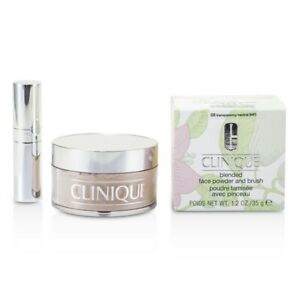 NEW Clinique Blended Face Powder + Brush (No. 08 Transparency ) 35g/1.2oz Womens