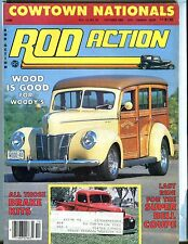 Rod Action Magazine October 1984 Super Bell Coupe Woody's EX w/ML 032017nonjhe