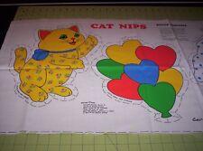 Cat Nips Quiltie Cotton Fabric