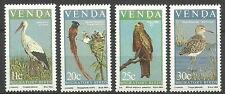 Venda - Zugvögel Satz postfrisch 1984 Mi. 91-94