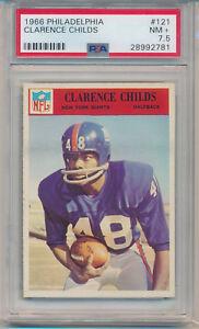 1966 Philadelphia Gum Clarence Childs (#121) PSA7.5 PSA