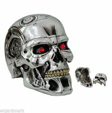 TERMINATOR 2 Judgement Day T-800 Head Box Movie Collectable Nemesis Now 18cm